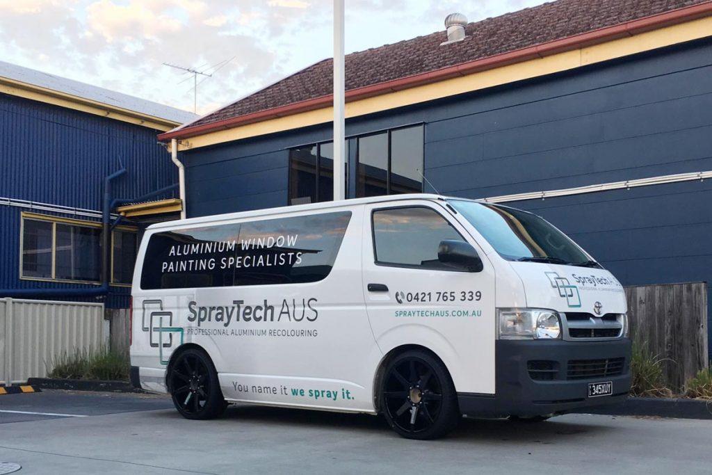 SprayTech Aus Van